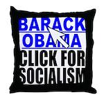 Click Throw Pillow