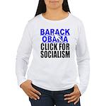 Click Women's Long Sleeve T-Shirt