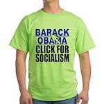 Click Green T-Shirt