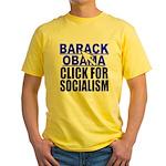 Click Yellow T-Shirt
