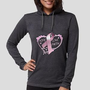 Hope Love Faith Long Sleeve T-Shirt