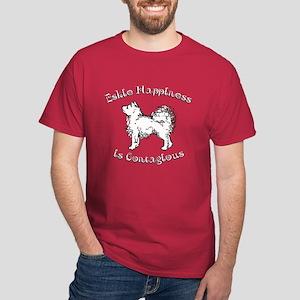 Eskie Happiness Dark T-Shirt