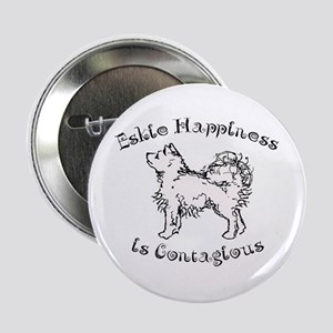 "Eskie Happiness 2.25"" Button"