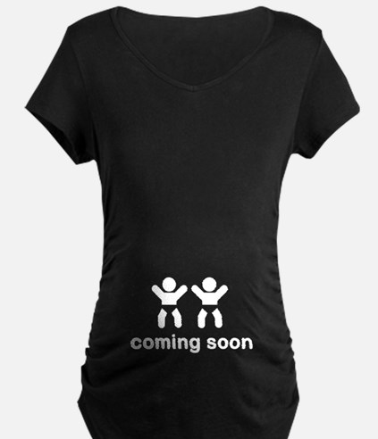 Coming Soon Twins T-Shirt