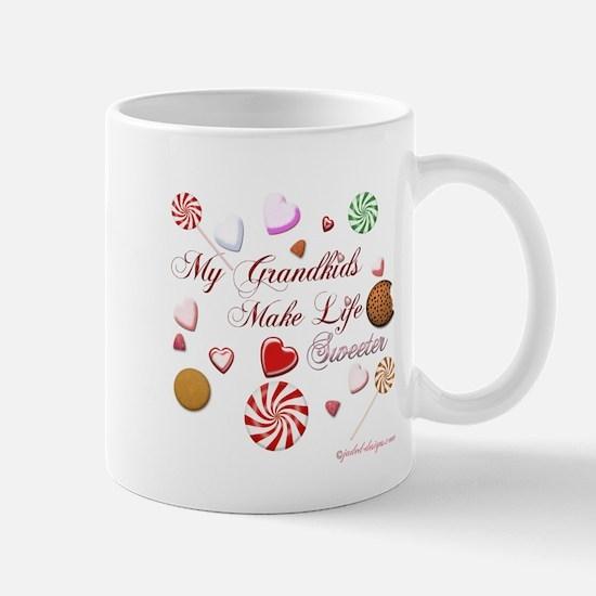 My Grandkids Make Life Sweeter Mug