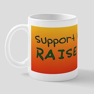 Support Wildlife - Raise Twin Mug