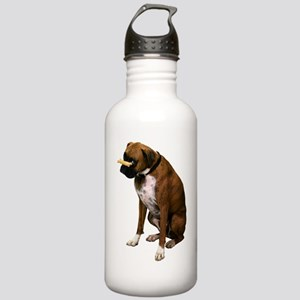 Funny Brindle Boxer Stainless Water Bottle 1.0L