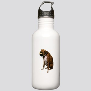 Brindle Boxer Dog Stainless Water Bottle 1.0L