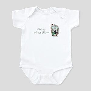 Love My Scotties Infant Bodysuit