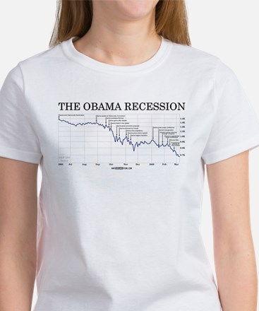 Obama Recession Women's T-Shirt