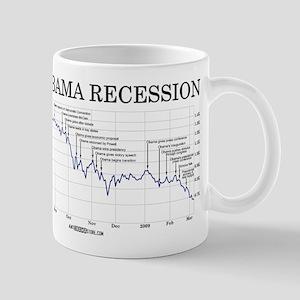 Obama Recession Mug