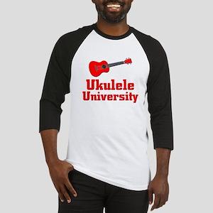 red ukulele Baseball Jersey