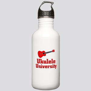 red ukulele Stainless Water Bottle 1.0L