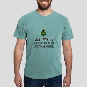 Bake Stuff Watch Christmas Movies T-Shirt