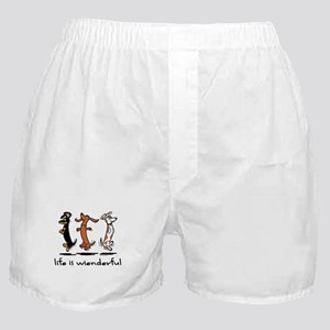 Life Is Wienderful Boxer Shorts