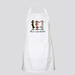 Life Is Wienderful BBQ Apron
