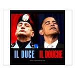 Il Douche anti-Obama Small Poster
