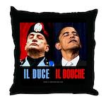 Il Douche anti-Obama Throw Pillow
