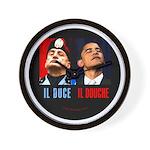Il Douche anti-Obama Wall Clock