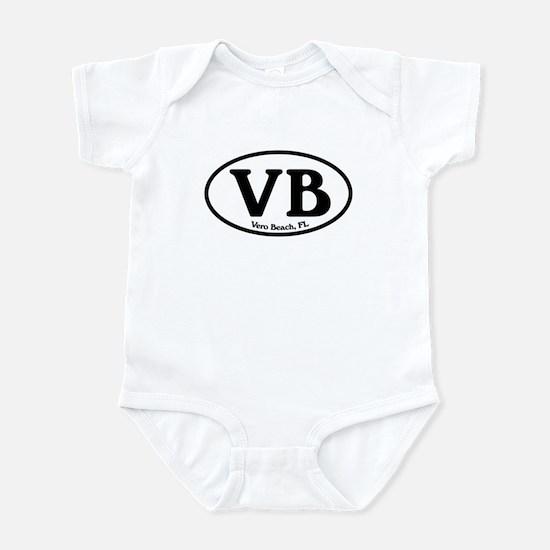 VB Vero Beach Oval Infant Bodysuit