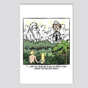 God vs. MD Postcards (Package of 8)