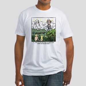 God vs. MD Fitted T-Shirt