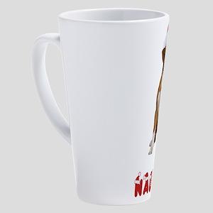 Naughty Boxer 17 oz Latte Mug