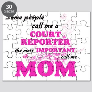 Some call me a Court Reporter, the most imp Puzzle