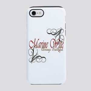 Swirl Marine Wife Iphone 8/7 Tough Case