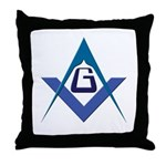 The Tri-point Throw Pillow