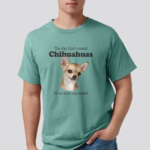 God smiled chihuahuas T-Shirt