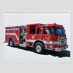 Fire Equipment Wall Calendar