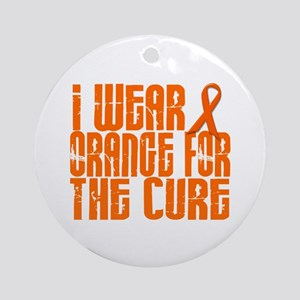 I Wear Orange For The Cure 16 Ornament (Round)