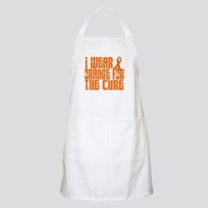 I Wear Orange For The Cure 16 BBQ Apron