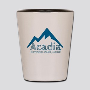 Acadia Shot Glass
