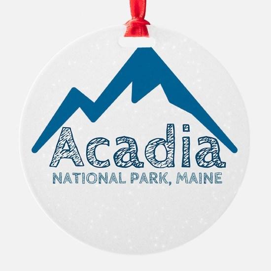 Acadia Ornament