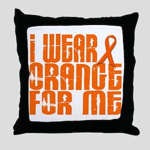 I Wear Orange For Me 16 Throw Pillow