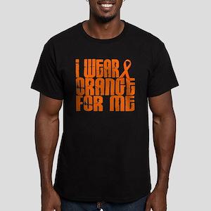 I Wear Orange For Me 16 Men's Fitted T-Shirt (dark
