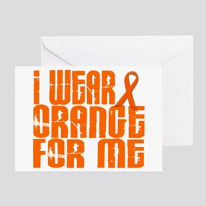 I Wear Orange For Me 16 Greeting Card