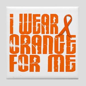 I Wear Orange For Me 16 Tile Coaster