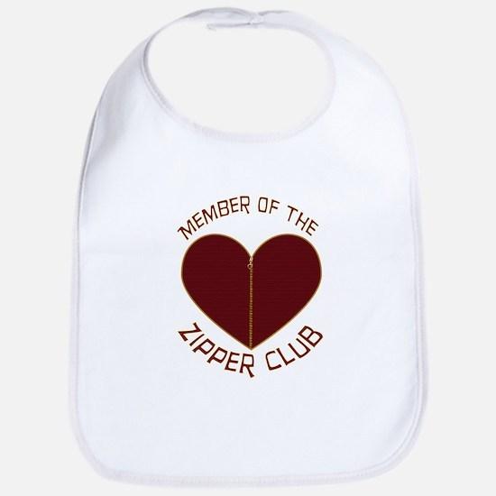 Zipper Club Bib