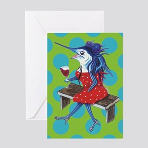 Cabernet Trixie Greeting Card