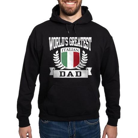 World's Greatest Italian Dad Hoodie (dark)