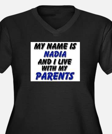 my name is nadia and I live with my parents Women'