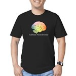 Celebrate Neurodiversi Men's Fitted T-Shirt (dark)