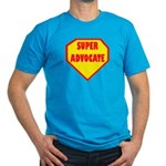 Super Advocate Men's Fitted T-Shirt (dark)