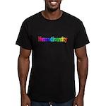 Celebrate Neurodiversity 2 Men's Fitted T-Shirt (d