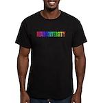 Neurodiversity University Men's Fitted T-Shirt (da