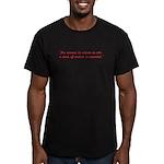 Hans Aspergers Men's Fitted T-Shirt (dark)
