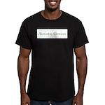 Autistic Genius 2 Men's Fitted T-Shirt (dark)